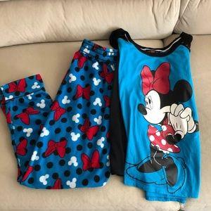 Minnie Mouse pajama set